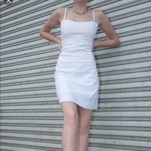 Brandy Melville White Karla Dress